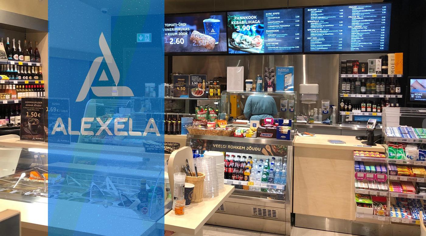 В магазинах Alexela больше всего покупают молоко, сливки для кофе и дезинфицирующие средства