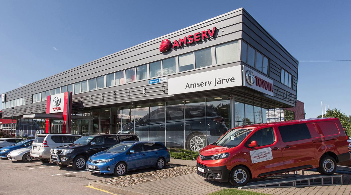 Amserv:  первым в Эстонии предлагает видеоконтроль автомобилей Toyota