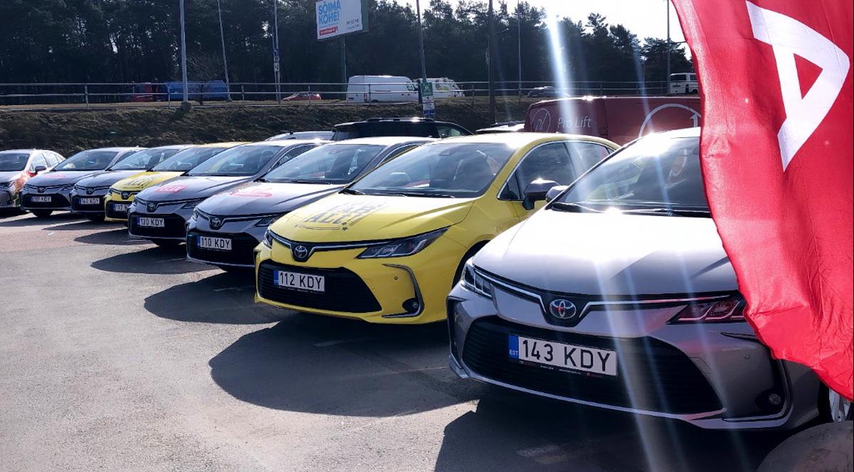 Amserv: эстоноземельцы стали особенно осведомленными  покупателями автомобилей