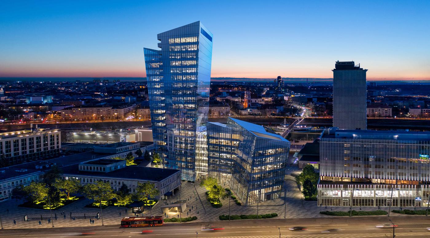 Studio Libeskind: В центре Вильнюса будет построено высотное здание
