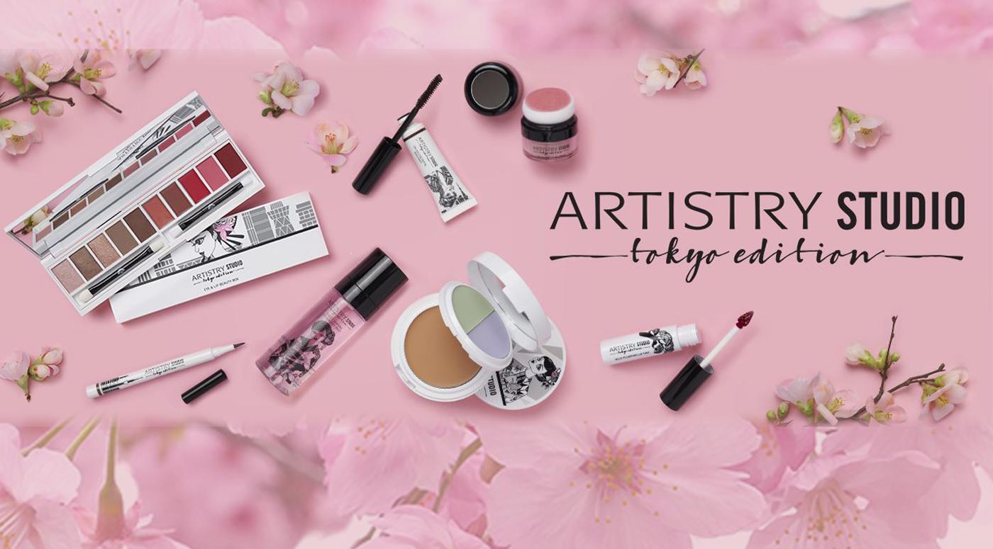 Artistry Studio: видео инструкция —  как сделать по-весеннему свежий дневной макияж