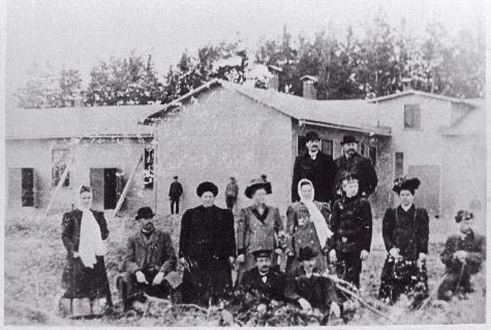 1910 г. Валга. Открытие мясокомбината