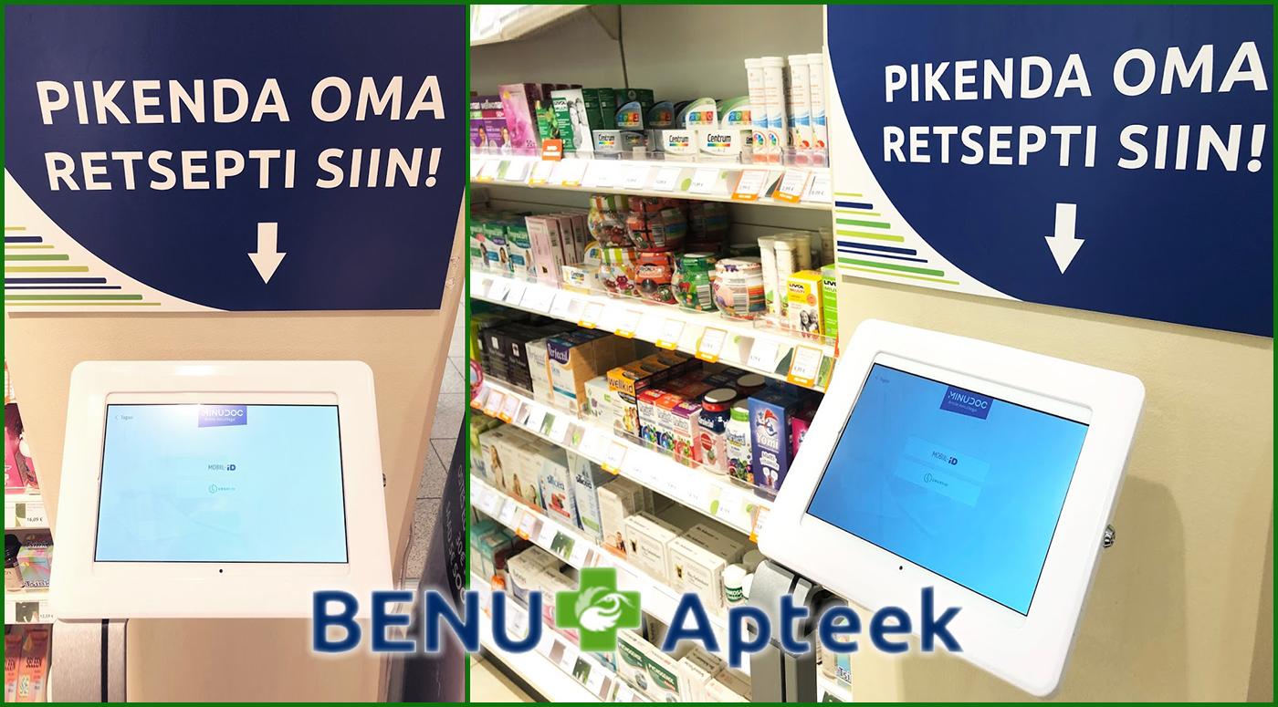 Benu Apteek: рецепты теперь можно продлить в 17 аптеках по всей Эстонии