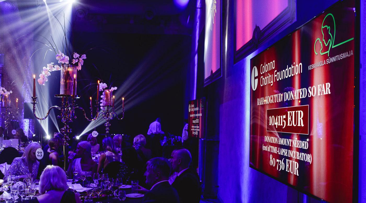 Colonna: Рекордные 104 000 евро собрали  на благотворительном гала-вечере