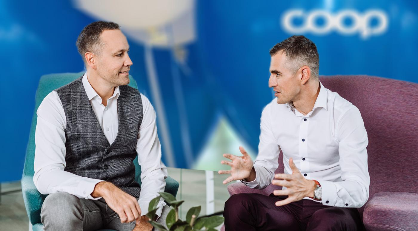 Новые назначения: Расмус Хейнла и Арко Куртманн — в правлении Coop Pank