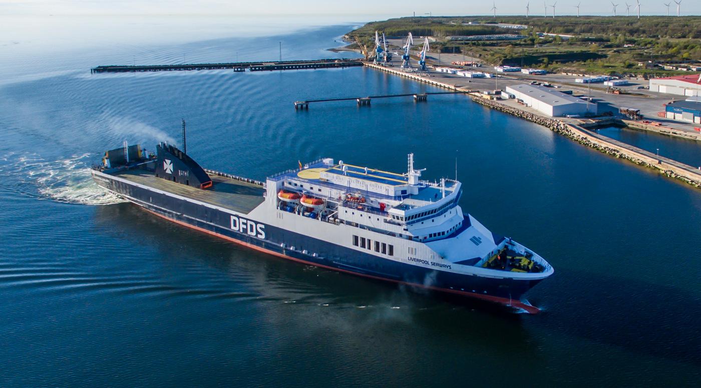 DFDS увеличивает число отправлений из Эстонии в Швецию