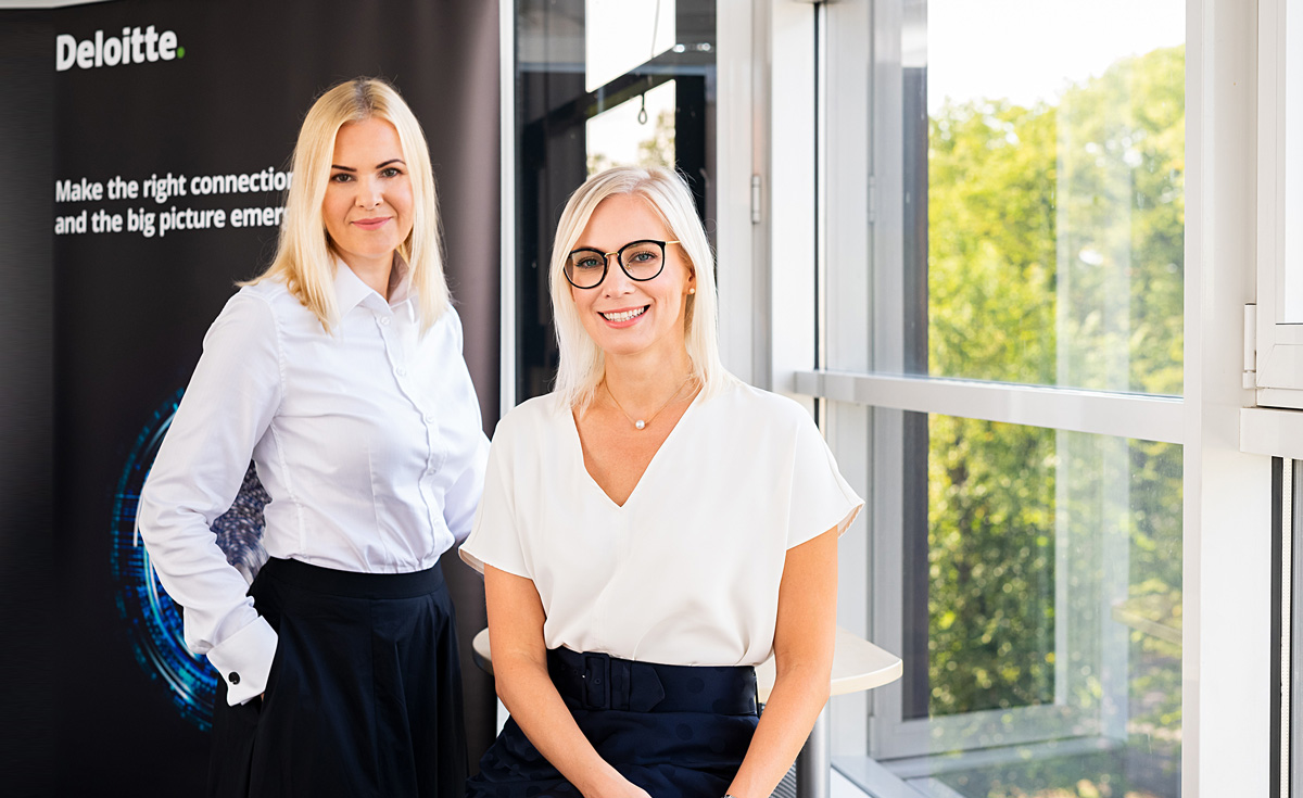 Deloitte: в команде два новых эксперта-консультанта