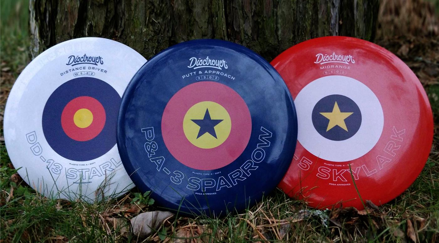 Эстонский производитель Disctroyer выпустил новый диск для диск-гольфа