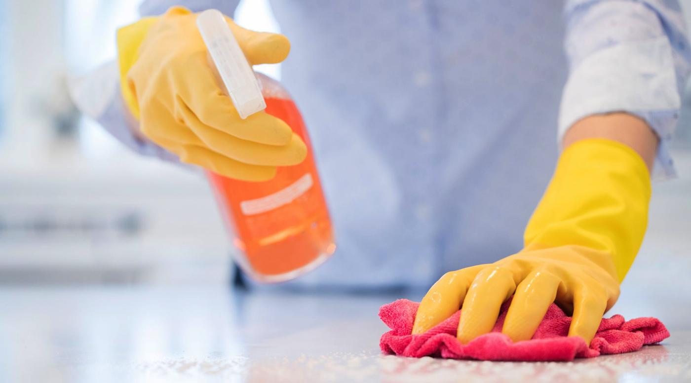SOL Baltics рекомендует проводить очистку рабочих помещений каждый день