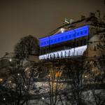 Дом Стенбока — в цвета эстонского триколора
