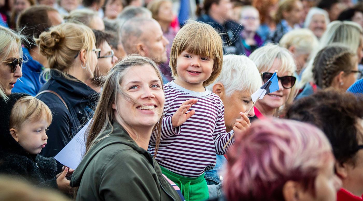 Исследование: наиболее важными факторами жители Эстонии считают безопасность и свободное общество