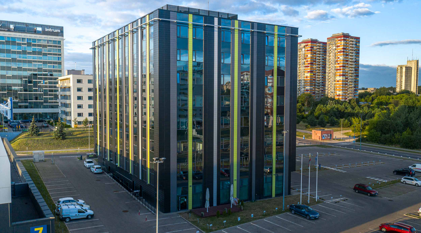 Компания EfTEN Real Estate Fund III AS приобрела офисное здание в Вильнюсе