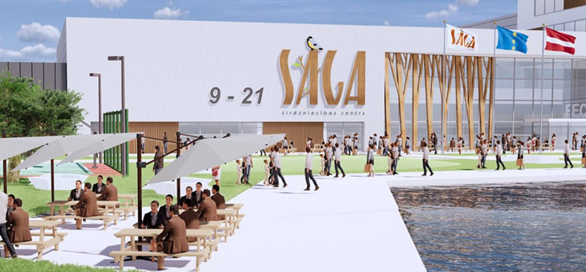 Estmak Capital построит в Риге гигантский торговый комплекс