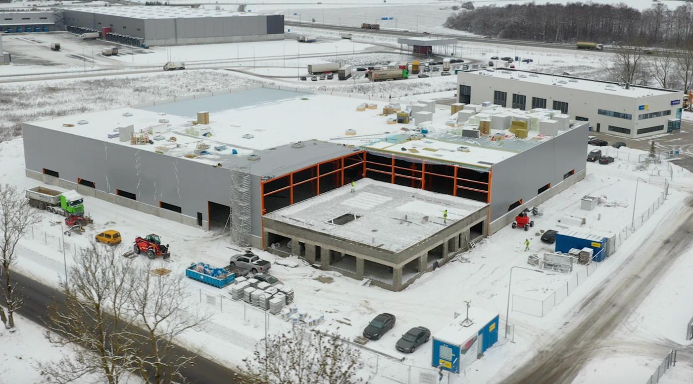 Весной будет построен новый завод FinEst-Hall Factory в Раэ