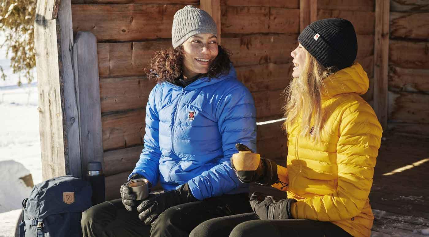 В какой куртке будет уютно при минусовой температуре?