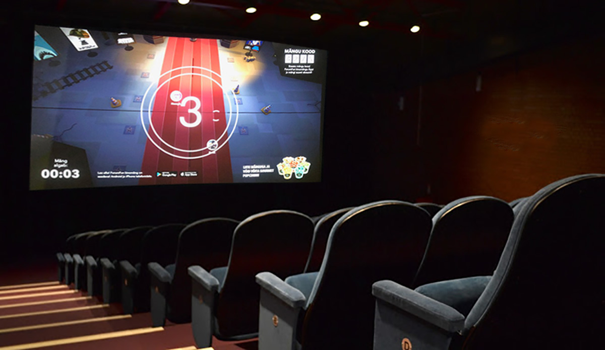 Forum Cinemas: приходите  в кино заранее — вас ждут интерактивные игры