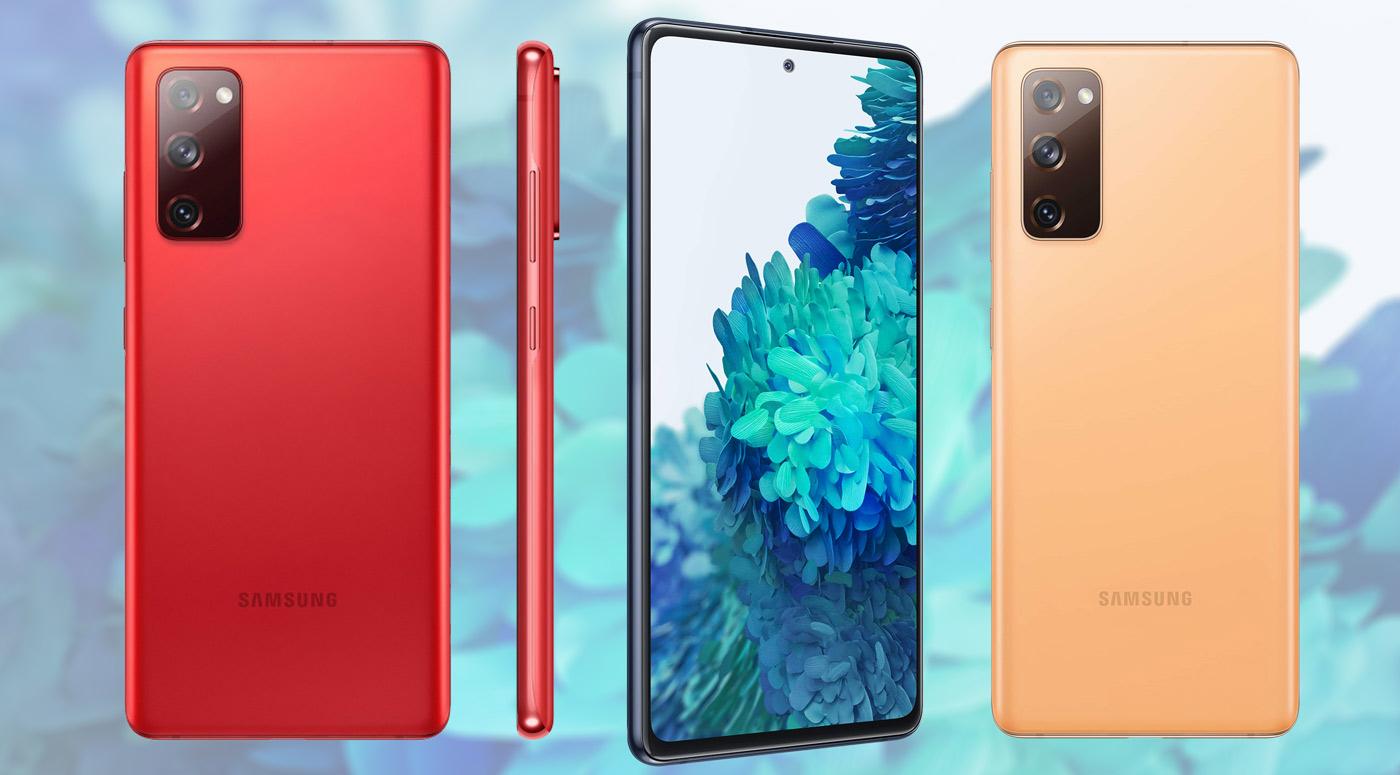 Galaxy S20 FE – новый смартфон от Samsung