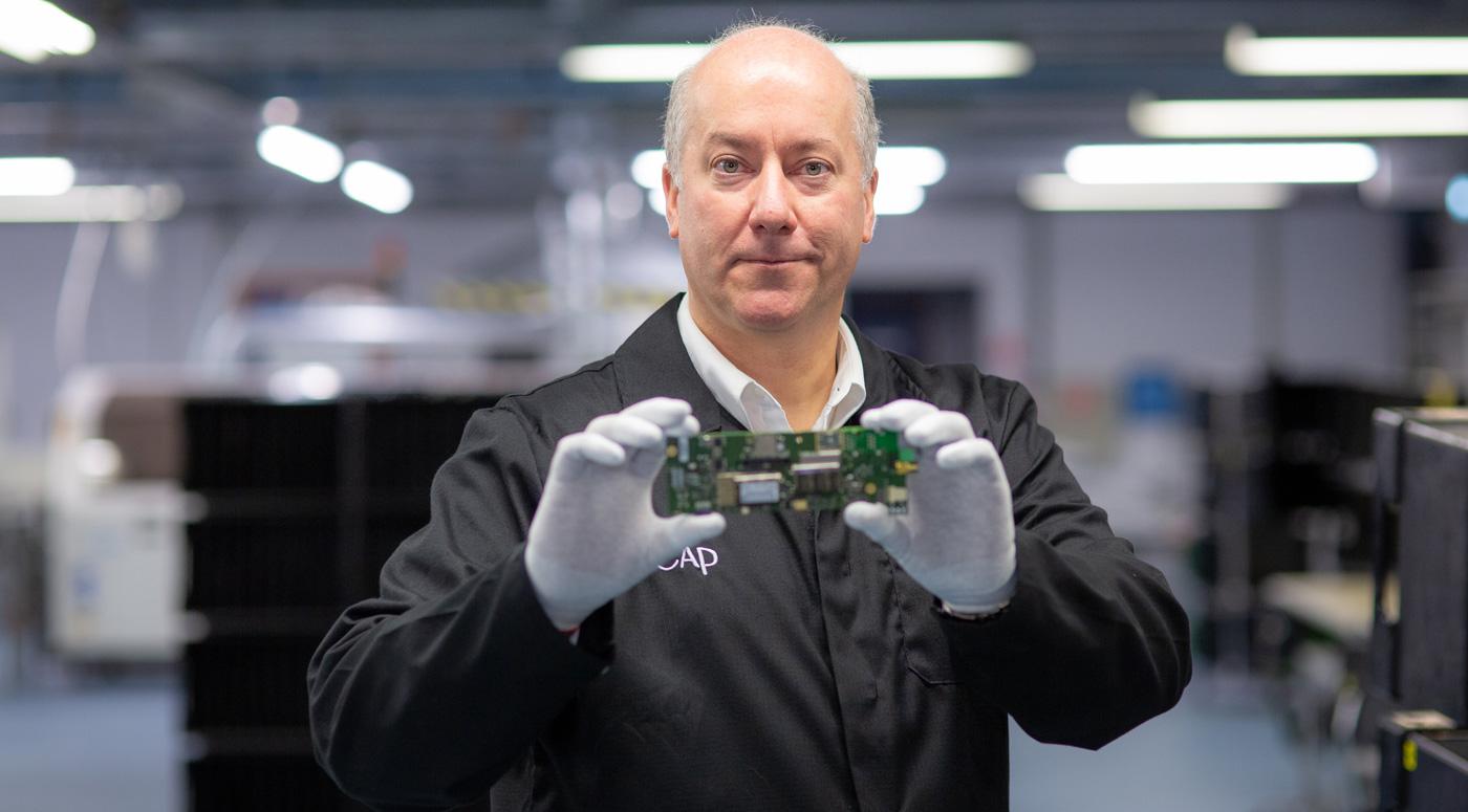 Новые назначения: Грег Грейс – руководитель электронного завода Incap Eesti