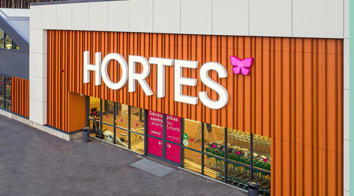 Hortes: открыт первый садоводческий центр в Латвии