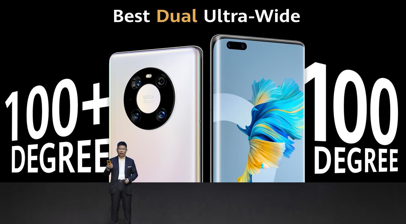 Huawei представил новые смартфоны: Mate 40 Pro и Mate 40 Pro+