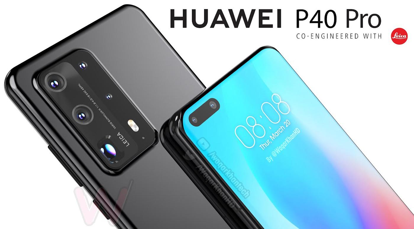 Huawei представила флагманские телефоны новой серии P40