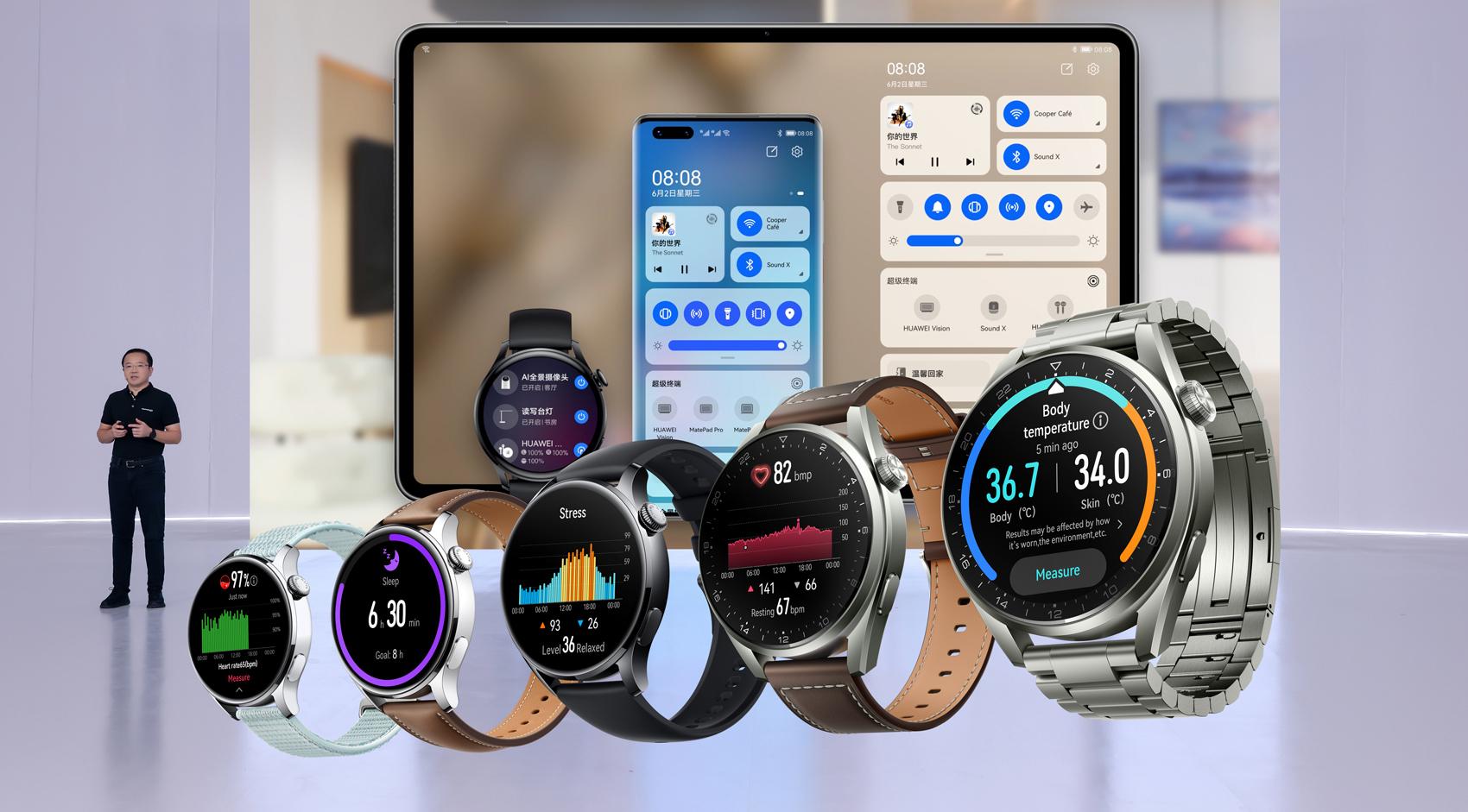 Новинки от Huawei: 4 продукта и операционная система HarmonyOS-2
