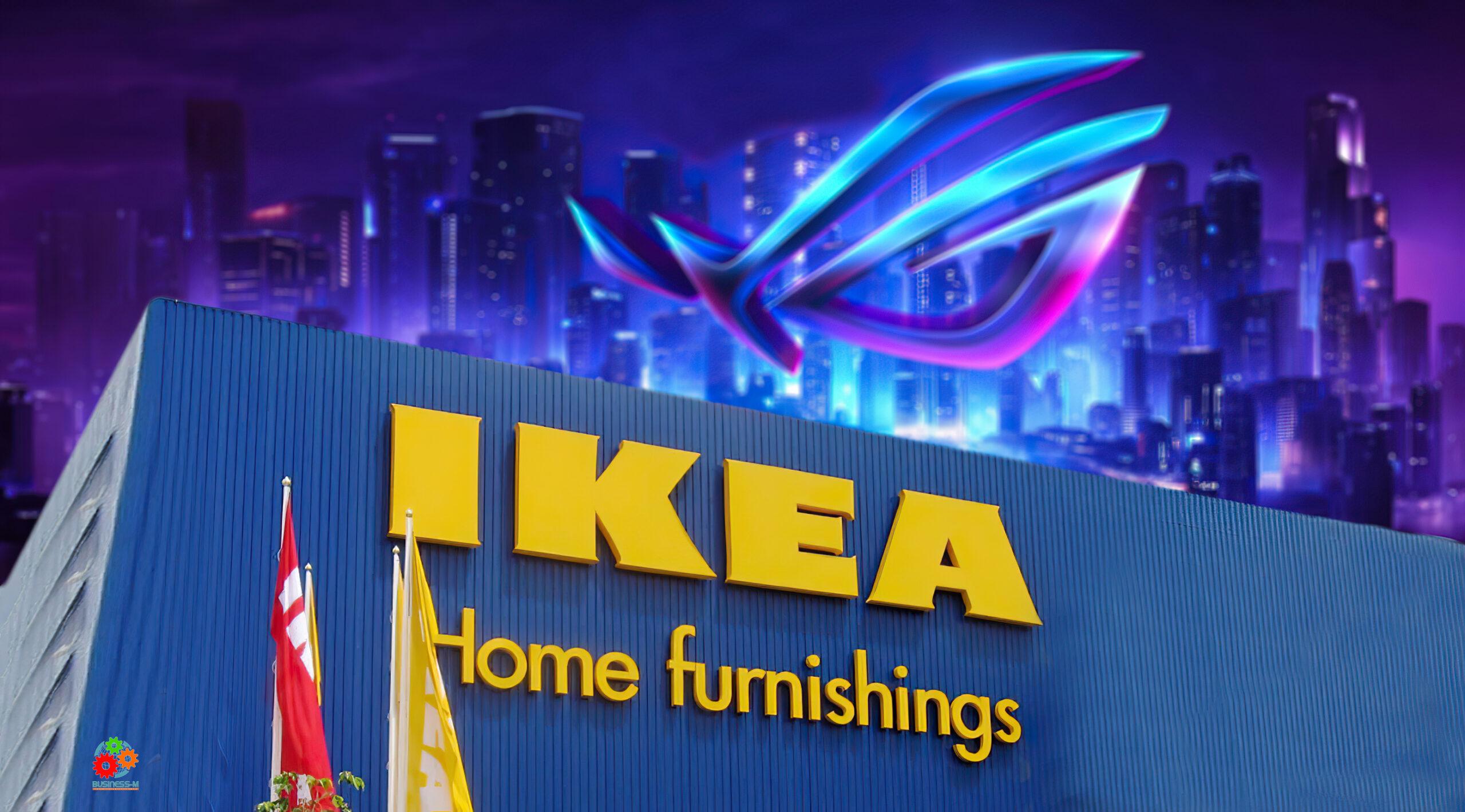 IKEA и ASUS ROG совместно создадут специальную мебель для геймеров