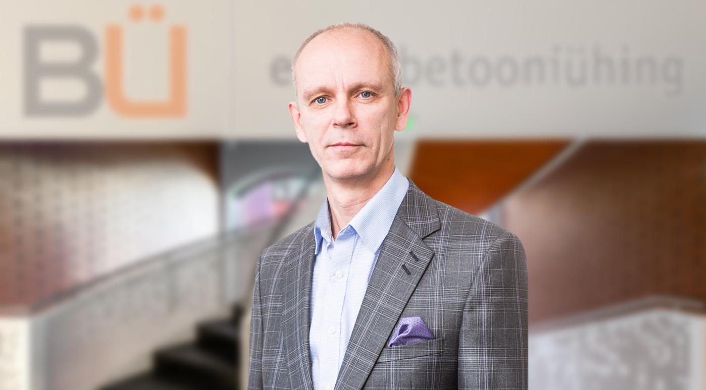 Новые назначения: Имре Леэтма — председатель Союза бетона Эстонии