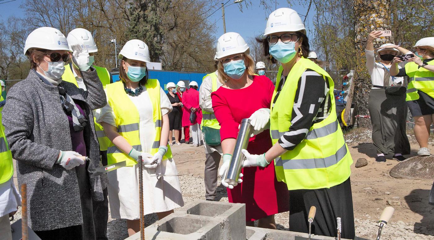 Таллинн: Заложен краеугольный камень