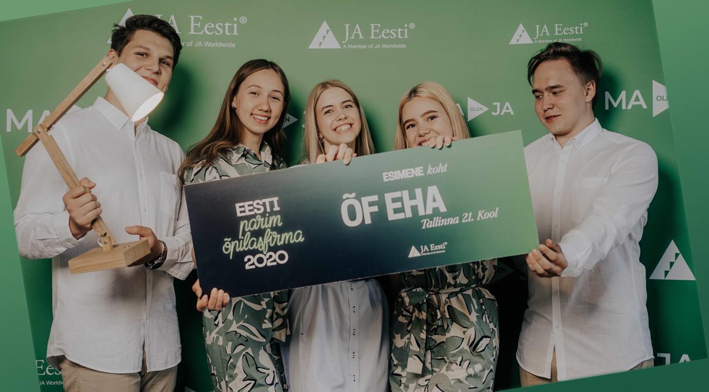 Проголосуйте за эстонскую фирму на конкурсе лучших ученических фирм Европы