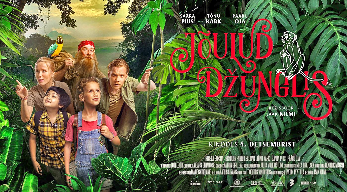 АФИША: «Рождество в джунглях» — новый семейный фильм Яака Кильми