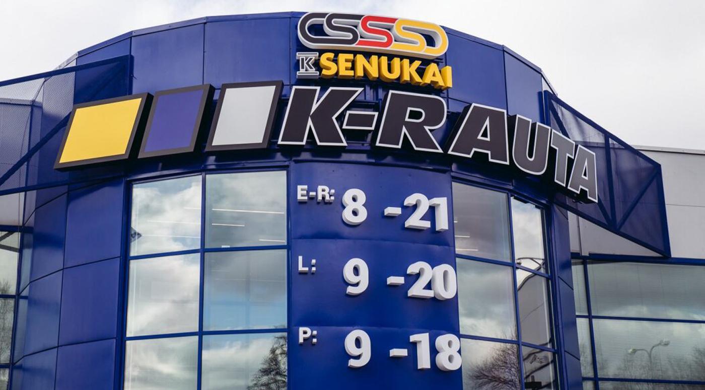 K-rauta ограничивает количество посетителей и предлагает сделать то же самое всем магазинам Эстонии