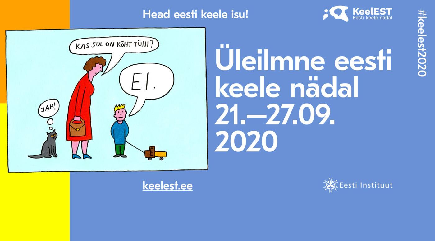Институт Эстонии организует Всемирную неделю эстонского языка KeelEST 2020