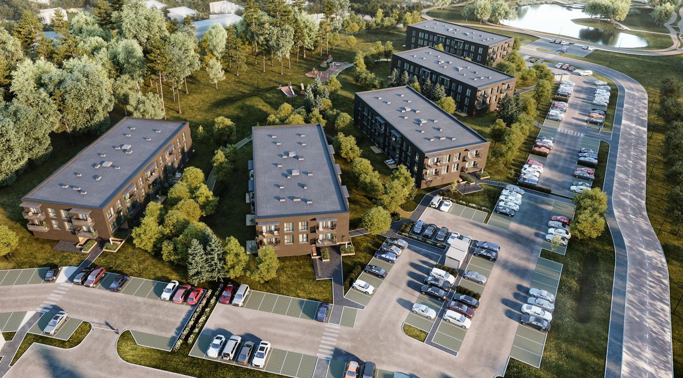 Triple Net Capital: Жилой квартал Kesk-Peetri будет готов летом 2022 года