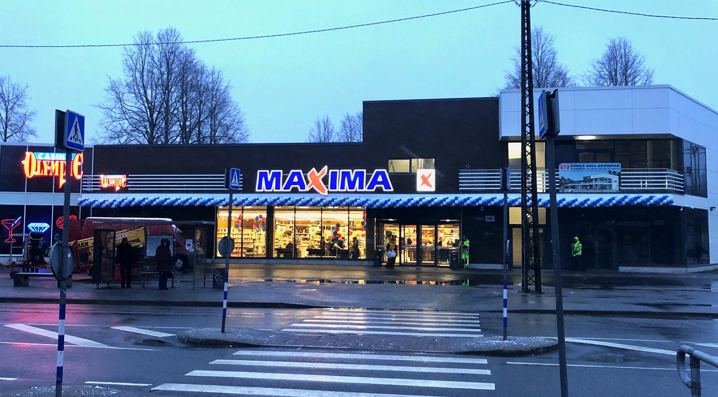 Colonna: В таллиннском районе Копли открылся новый торговый центр