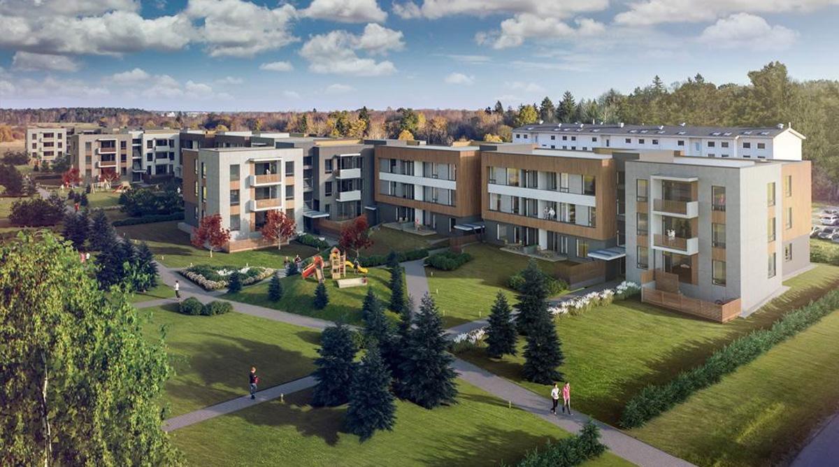 Estmak Capital и Nordecon: Строительство в жилом районе Куусехеки продолжается