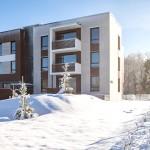Nordecon: завершено строительство 48-квартирного дома энергетического класса «А»