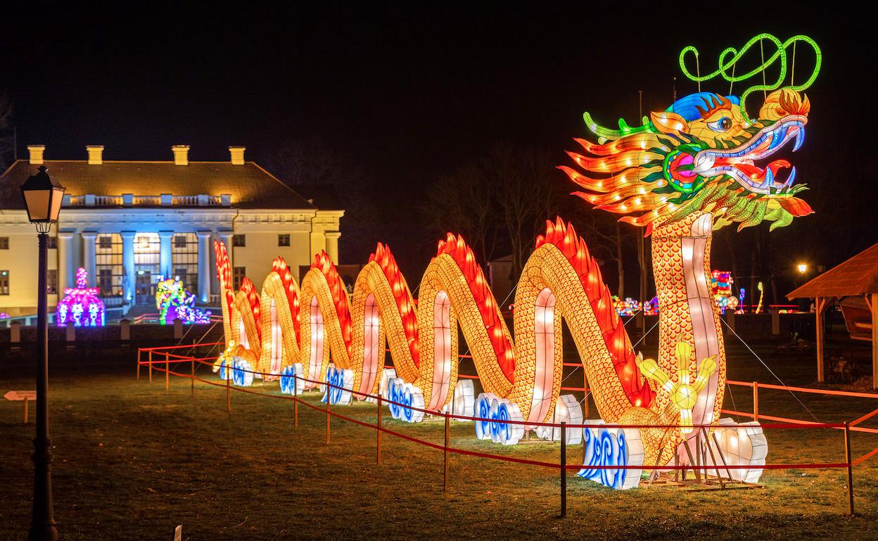 Гигантские световые скульптуры появятся в Таллинне на Певческом поле