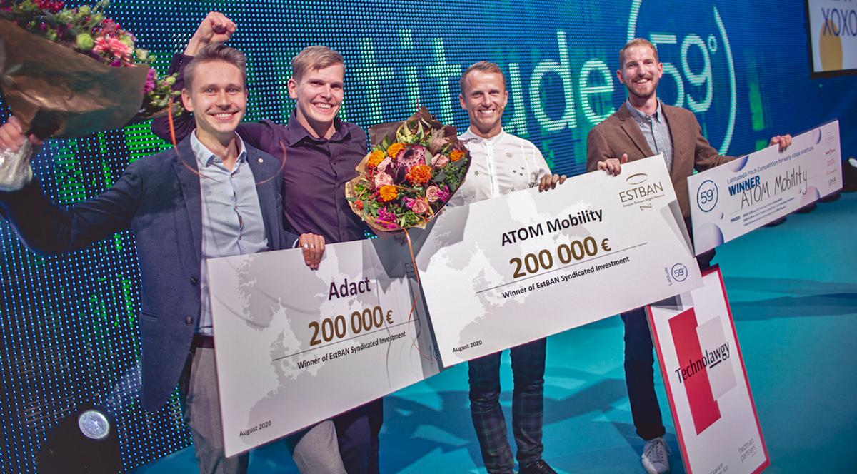 Latitude59: 400 000 евро инвестиций получили  стартапы из Эстонии и Латвии