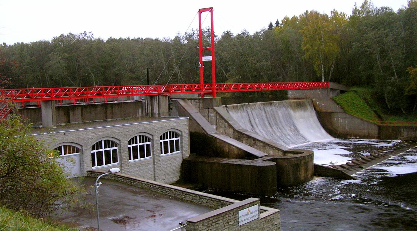 Линнамяэская гидроэлектростанция: историческую плотину нужно сохранить