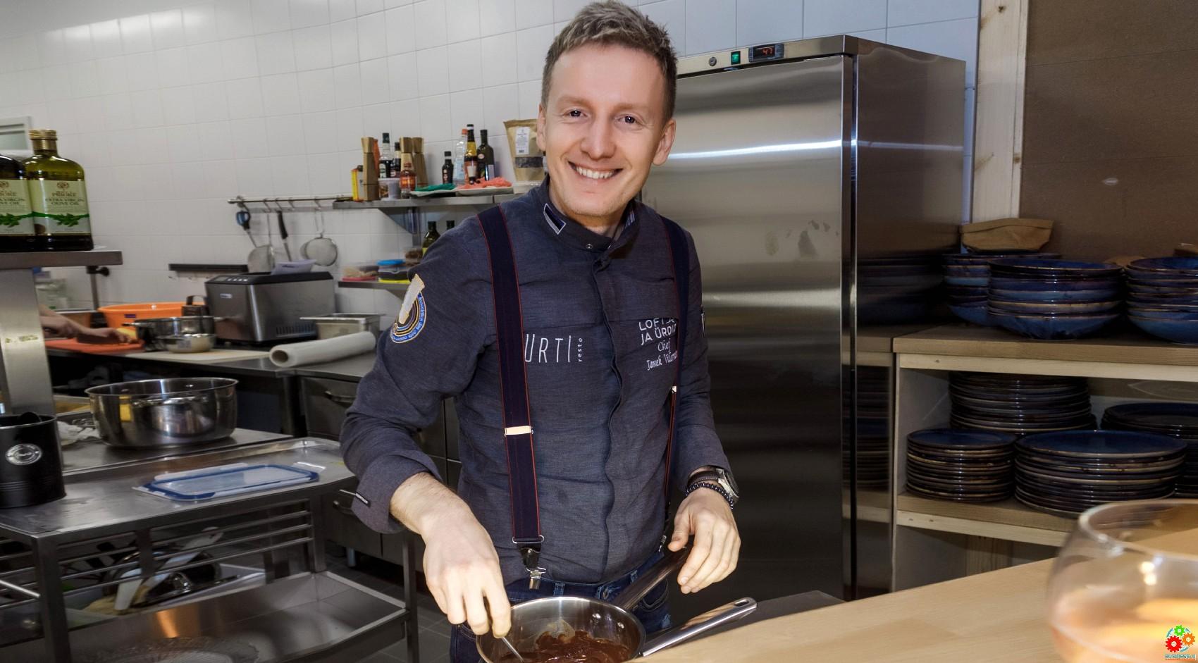 Янек Виллерманн открыл в Таллинне новый ресторан Loft ja Ürdid