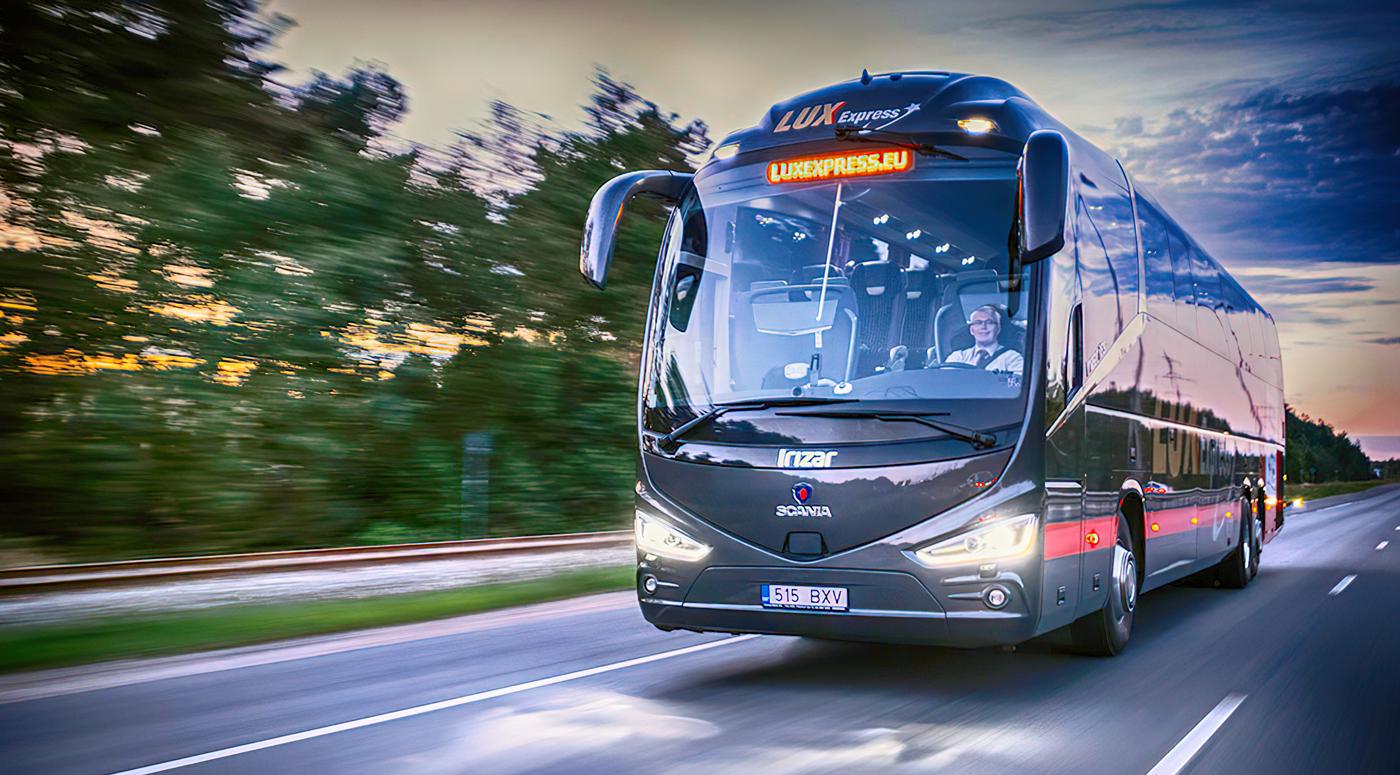 Lux Express начинает обслуживать пассажиров на внутреннем рынке Латвии