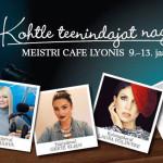Звезды Эстонии работают в Cafe Lyon