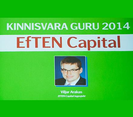 Гуру недвижимости 2014 – EfTEN Capital