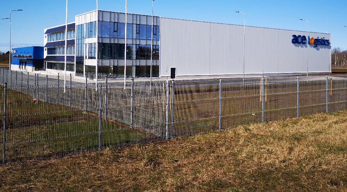 Mapri Ehitus: новый центр ACE Logistics построен в волости Раэ