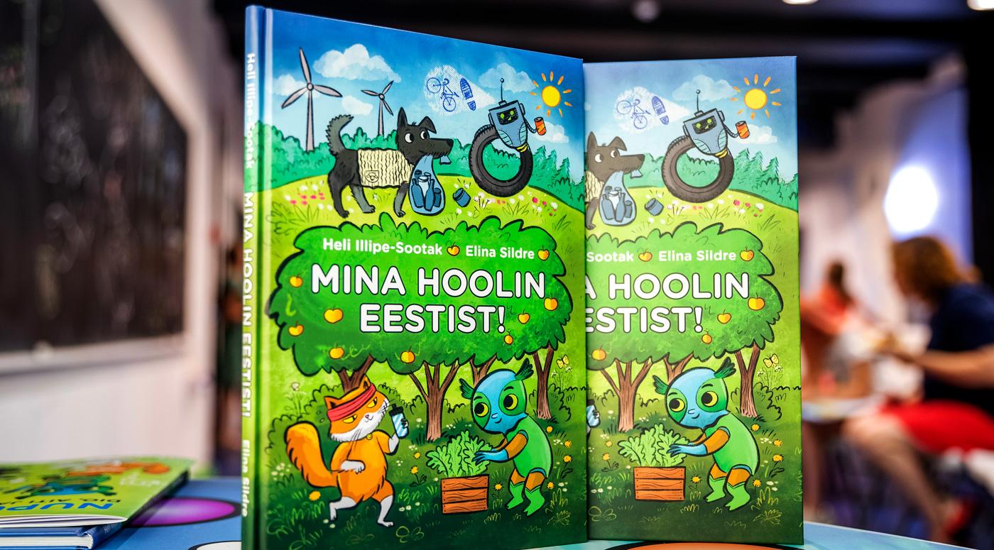 «Я забочусь об Эстонии» — новая детская книга от Maxima Eesti