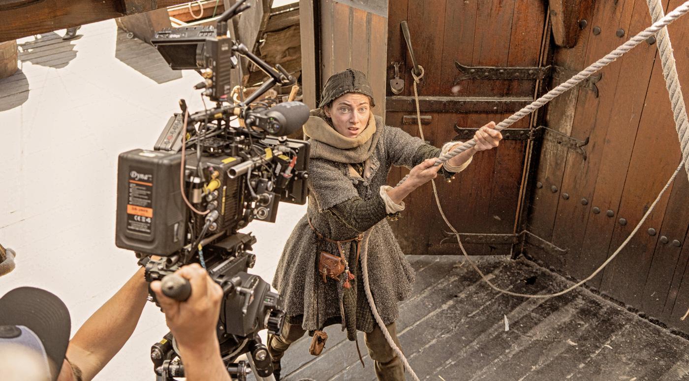 Первую сцену «Аптекаря Мельхиора» снимут на борту ганзейского когга