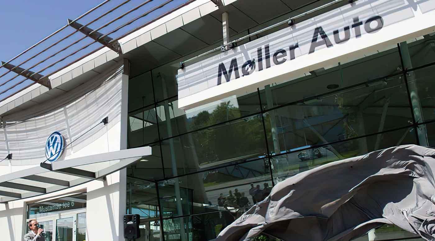 Смарт-решения автомастерских Møller Auto