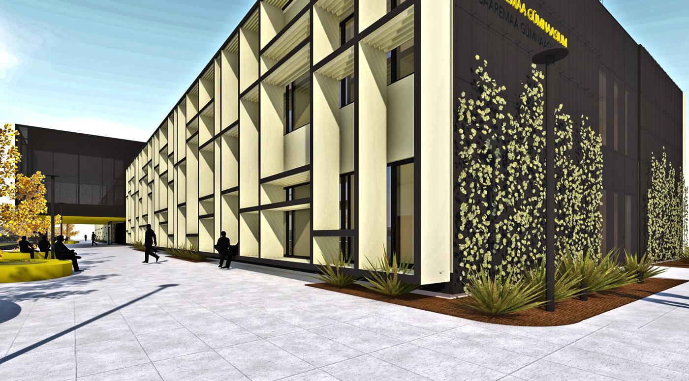 Компания Nordecon  построит новую гимназию на острове Сааремаа