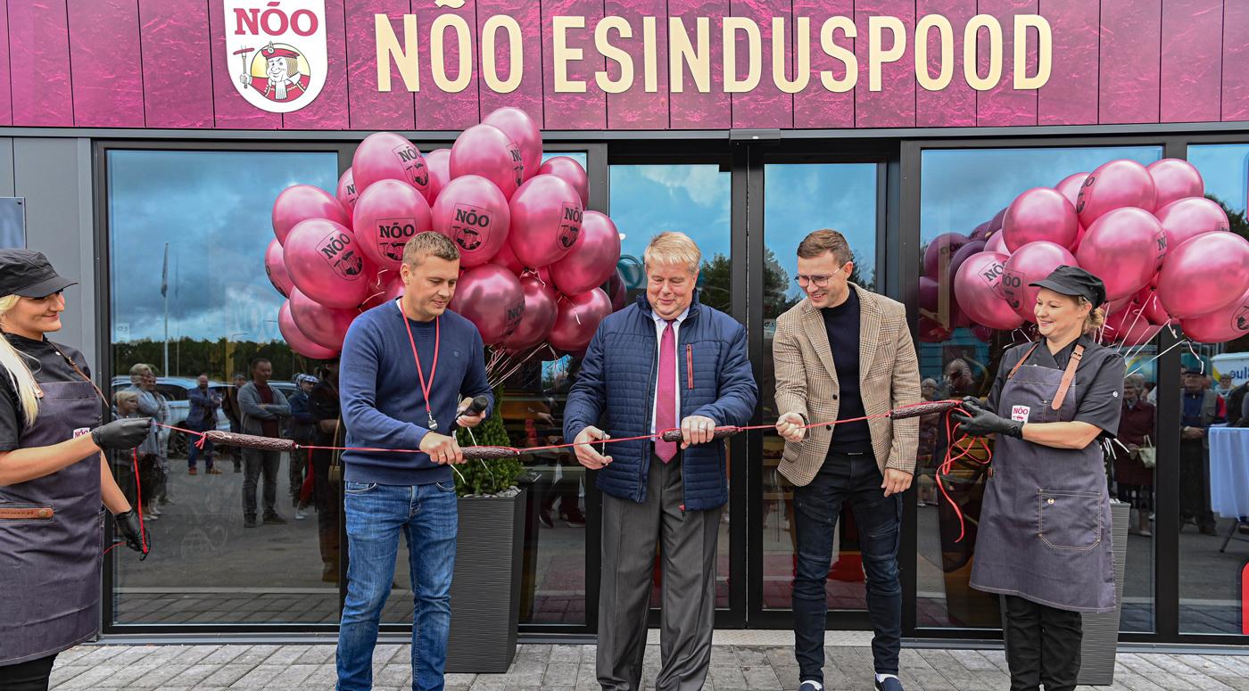 Компания Nõo Lihatööstus открыла первый представительский магазин